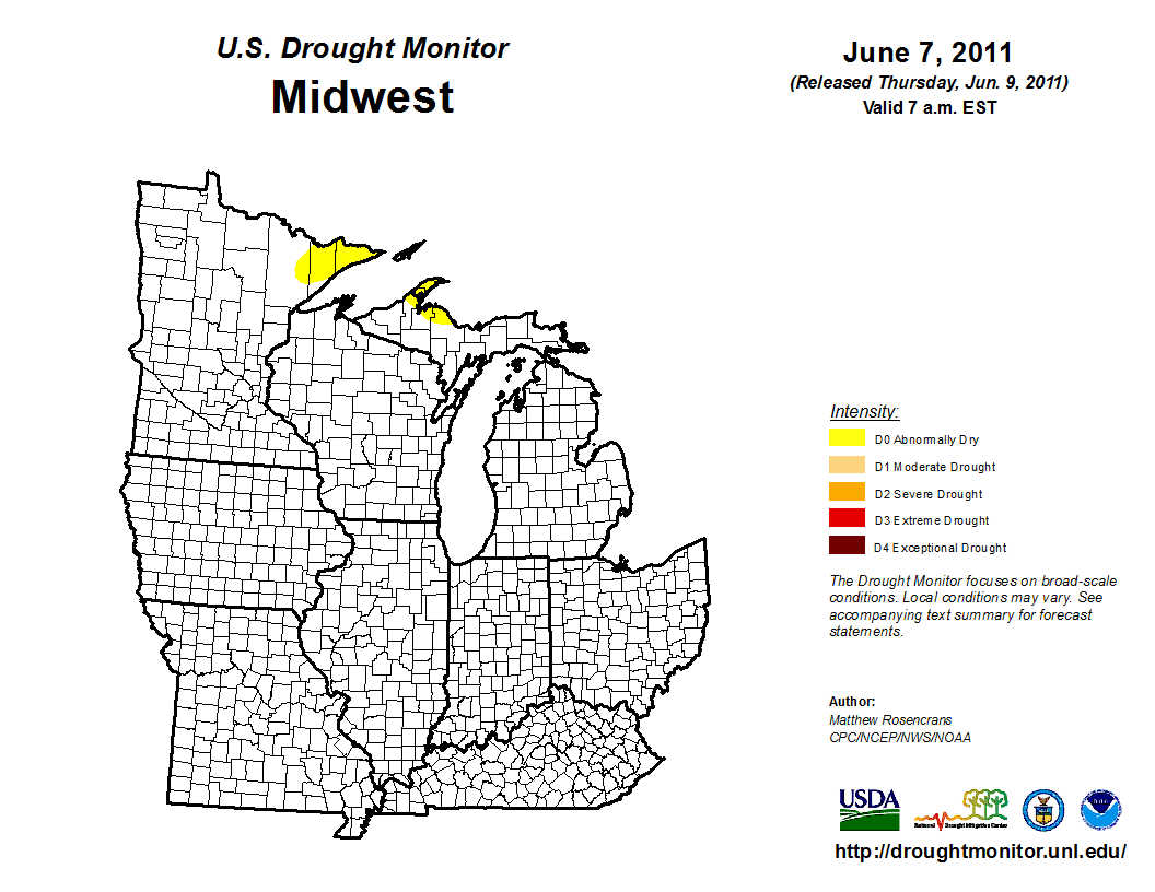midwest drought Drought in the midwest during 2017 was limited in areal coverage but still intense in a few locations the year began with moderate drought mostly in missouri.