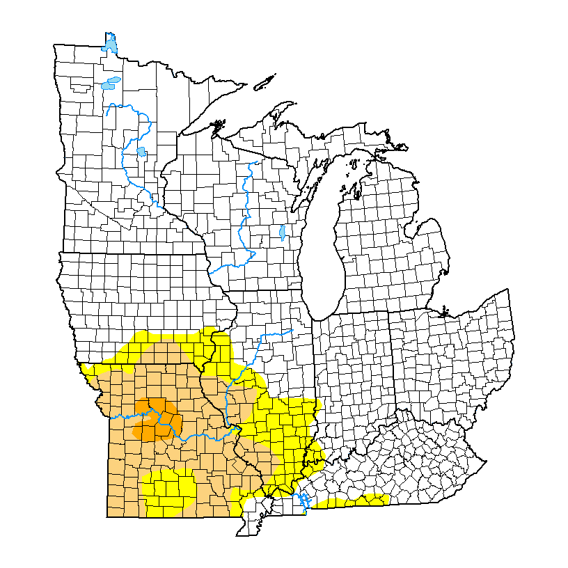 U.S. Drought Monitor forMidwest