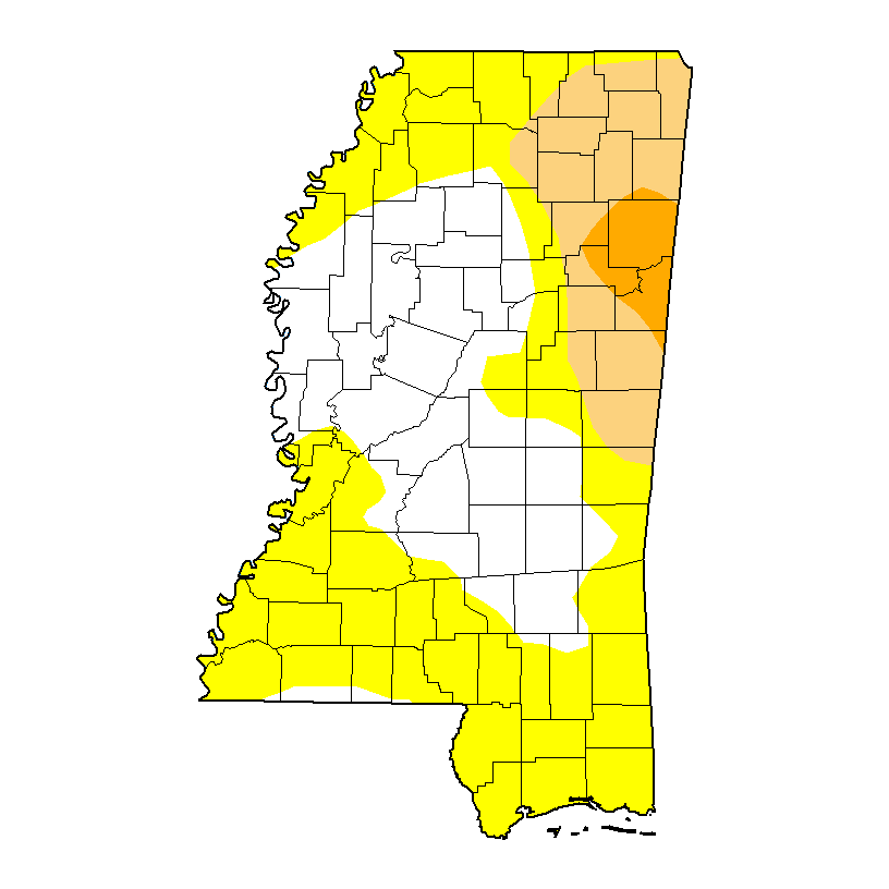 U.S. Drought Monitor forMississippi