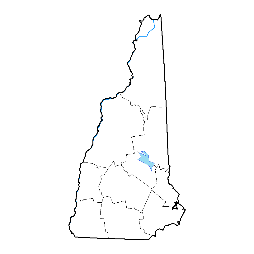 U.S. Drought Monitor forNew Hampshire