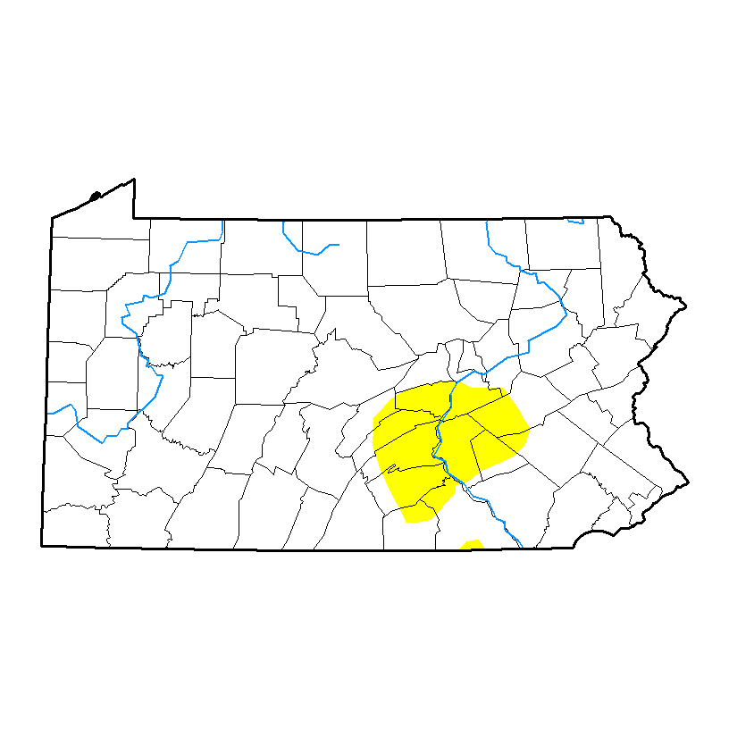 U.S. Drought Monitor forPennsylvania
