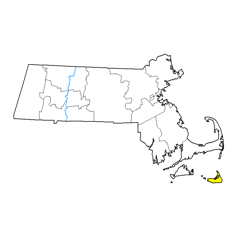 U.S. Drought Monitor forMassachusetts
