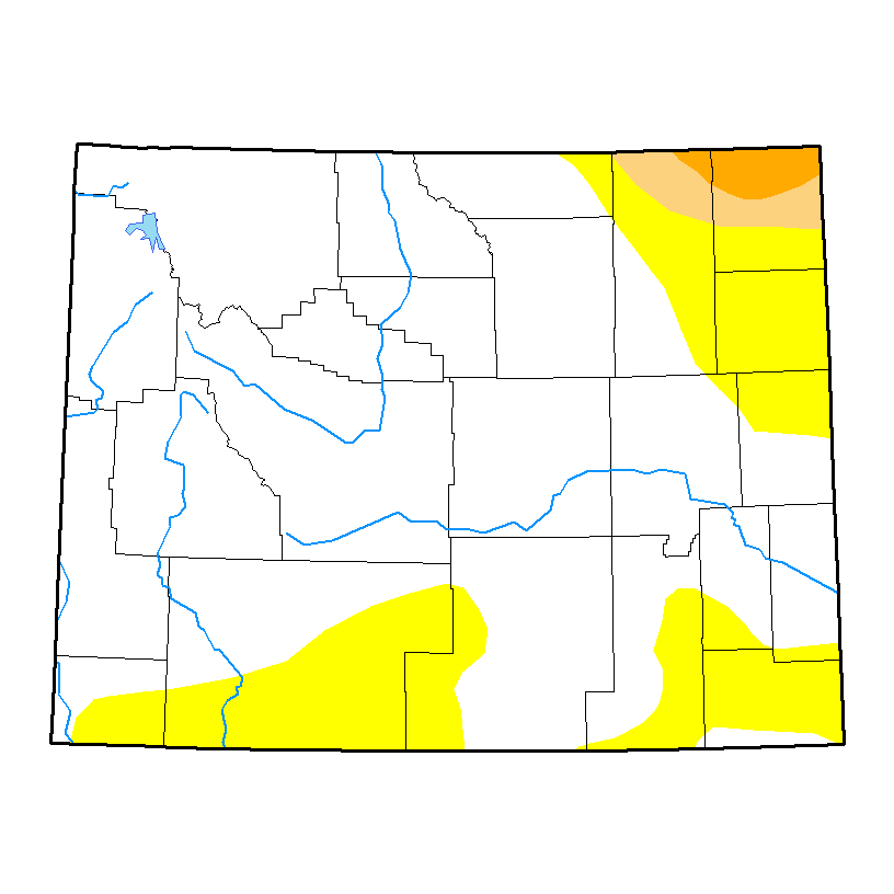 U.S. Drought Monitor forWyoming