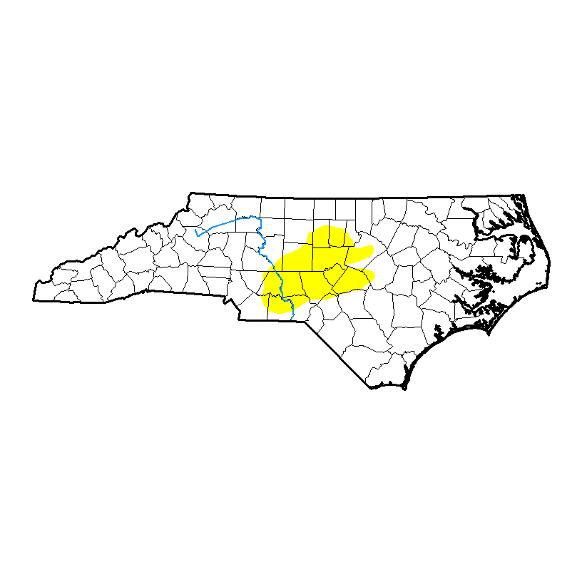 Current NC Drought Monitor