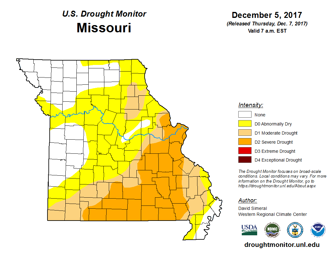 Us Drought Monitor Map Map Of Northern Illinois Taco Bell Arena - Mo on us map