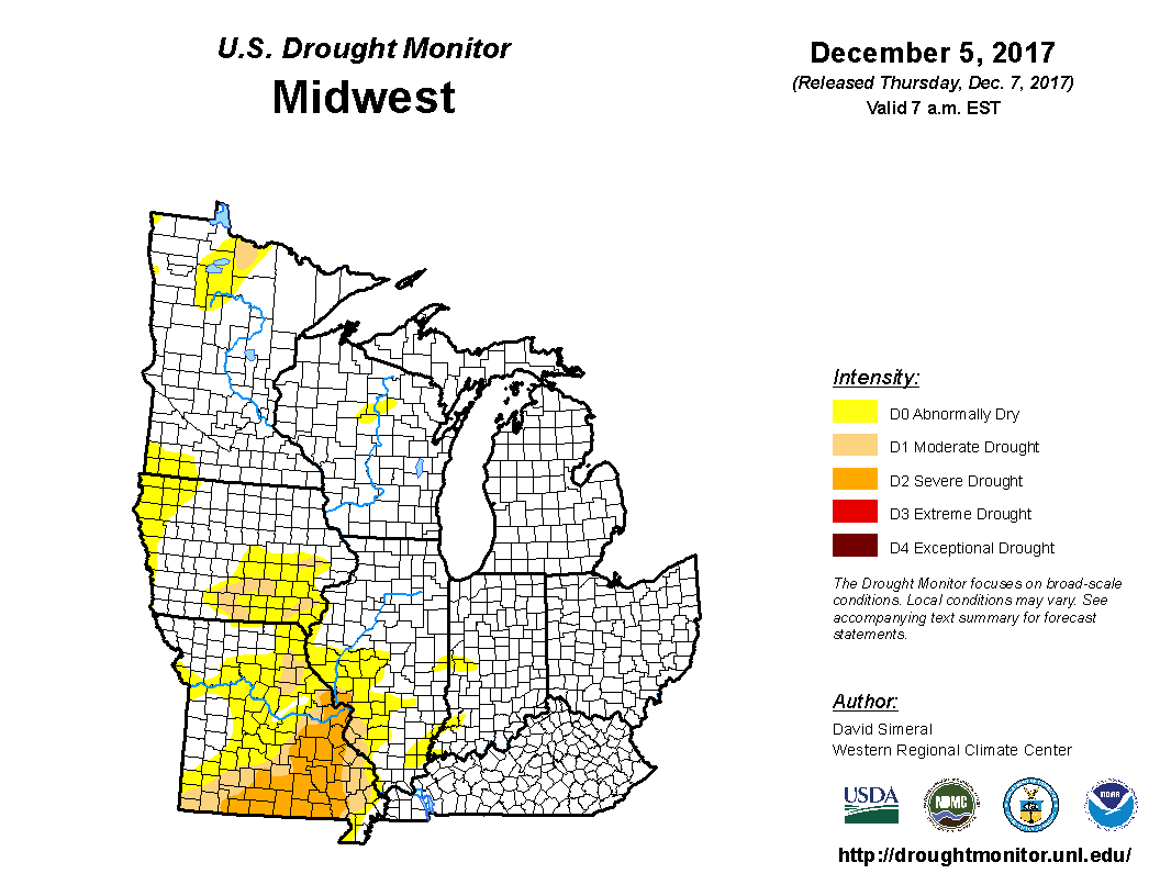 United States Drought Monitor Current Map State Drought Monitor - Us drought map forecast