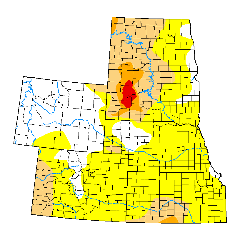 United States Drought Monitor Current Map State Drought Monitor - Drought map in us