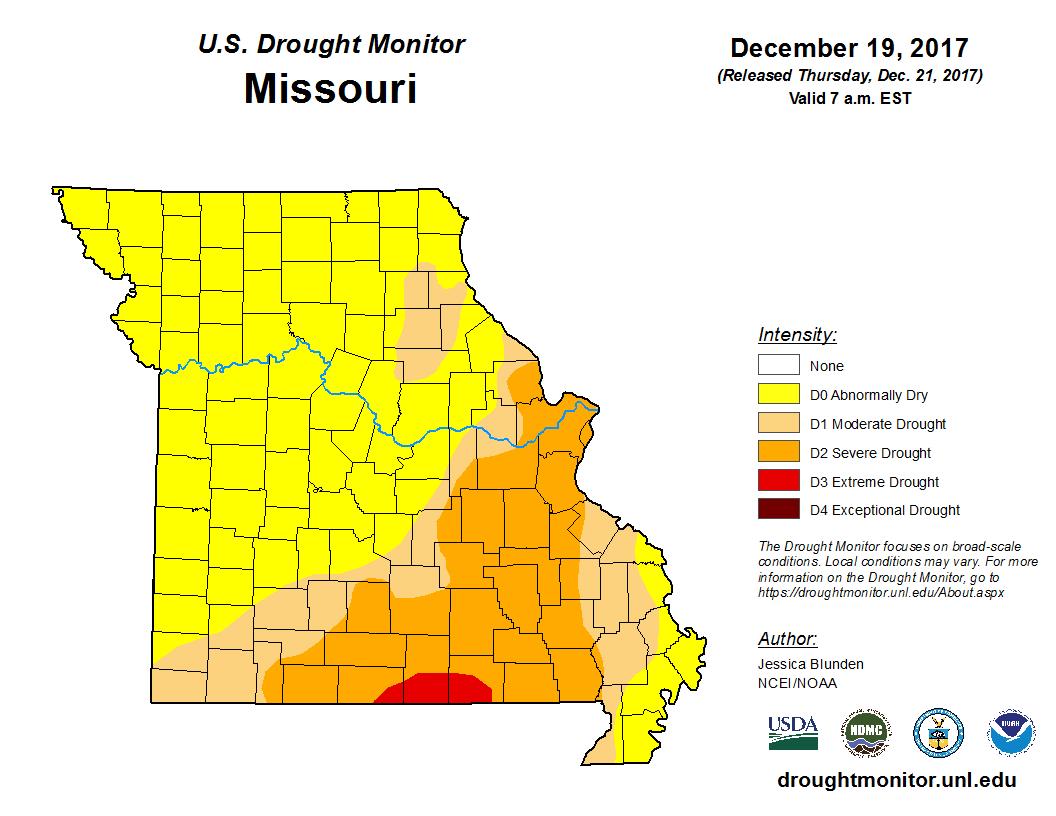 oregon drought map half of oregon suffering severe drought koin
