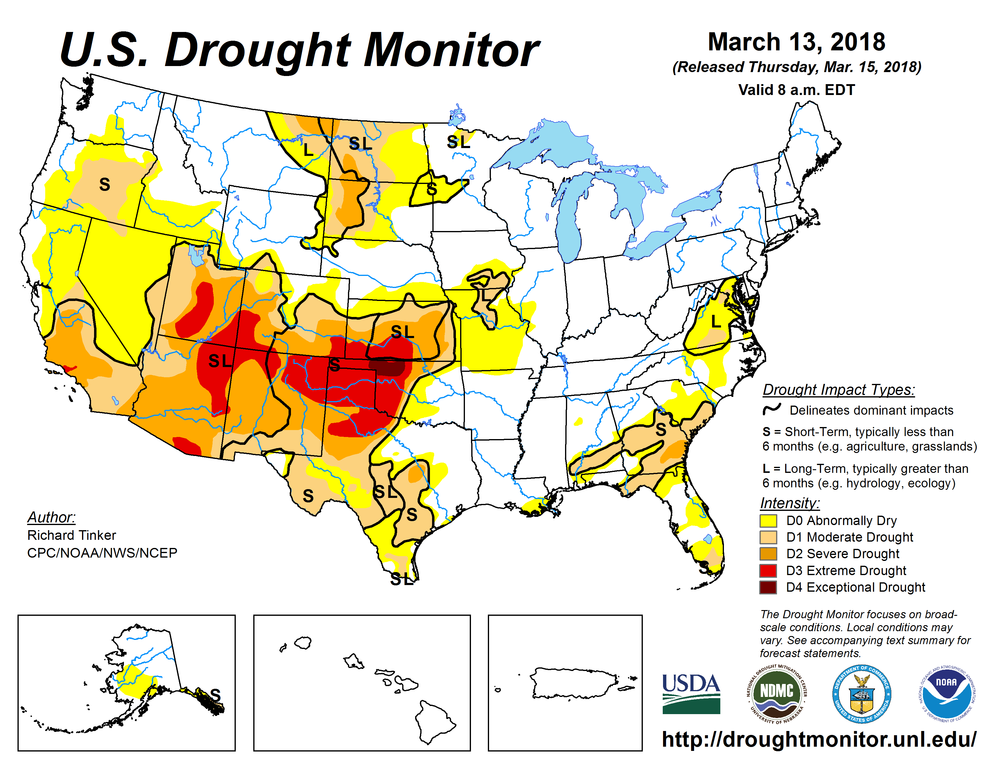 Time to Re-Visit Drought Plans for the Ranch: March 2018 Update