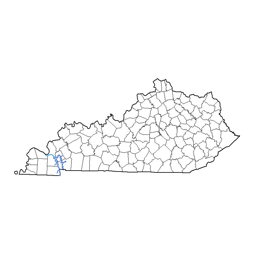 Kentucky Drought Monitor