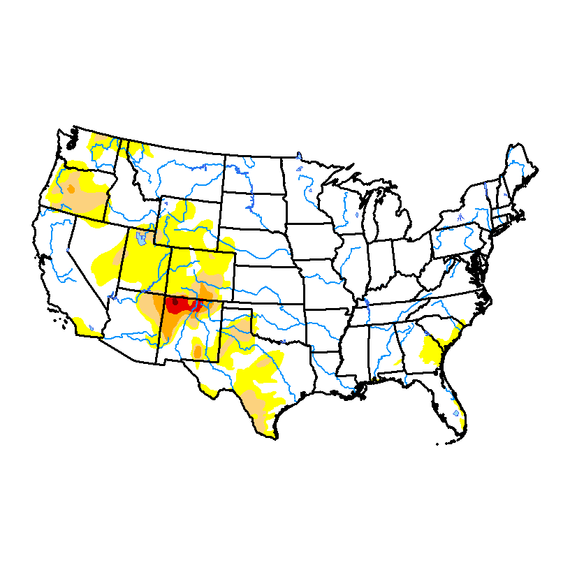Drought Monitor for conus