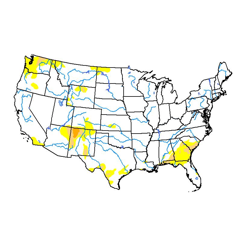 Drought Monitor for conus
