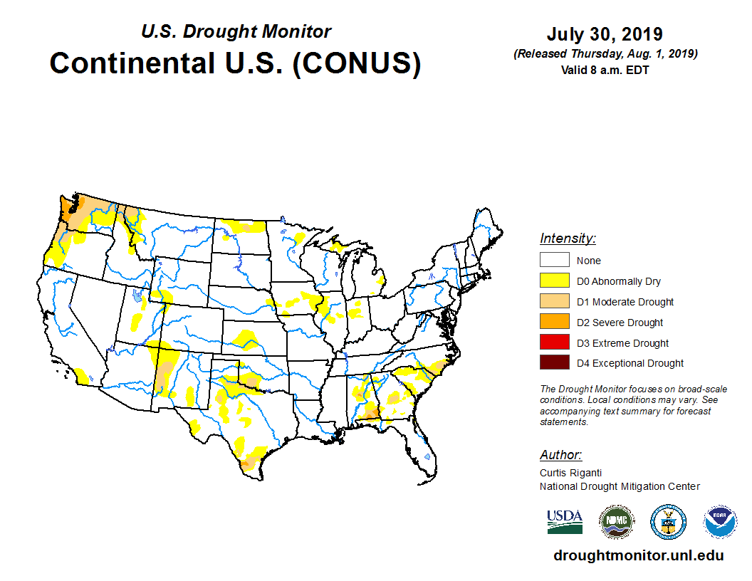 State Drought Monitor   United States Drought Monitor