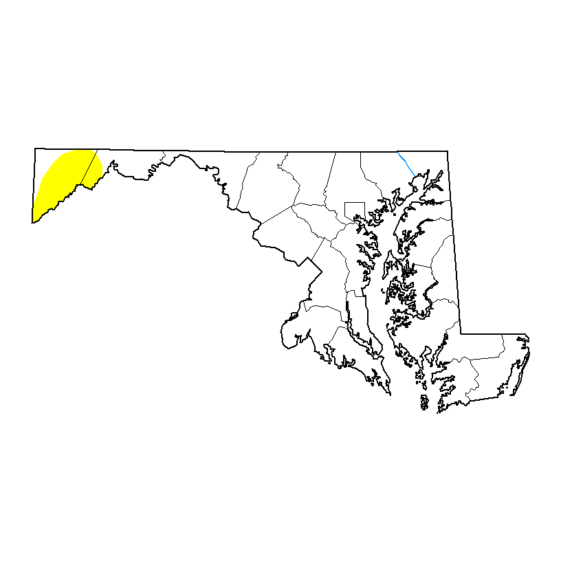 Maryland Drought Monitor