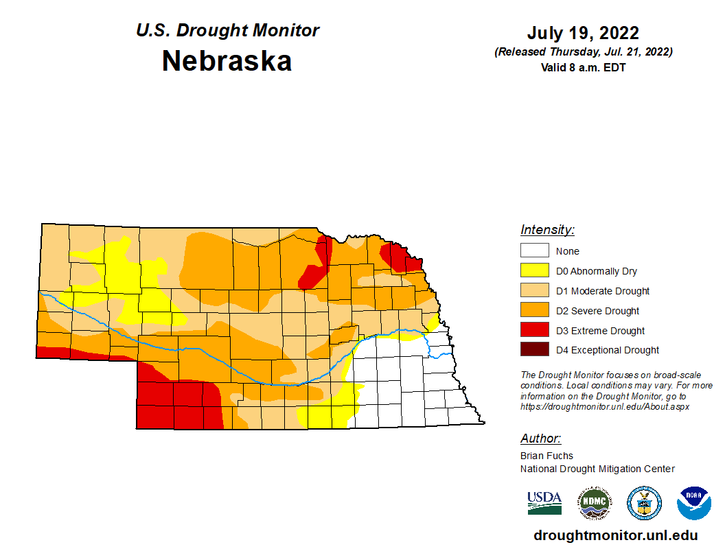 Real time Drought Monitor