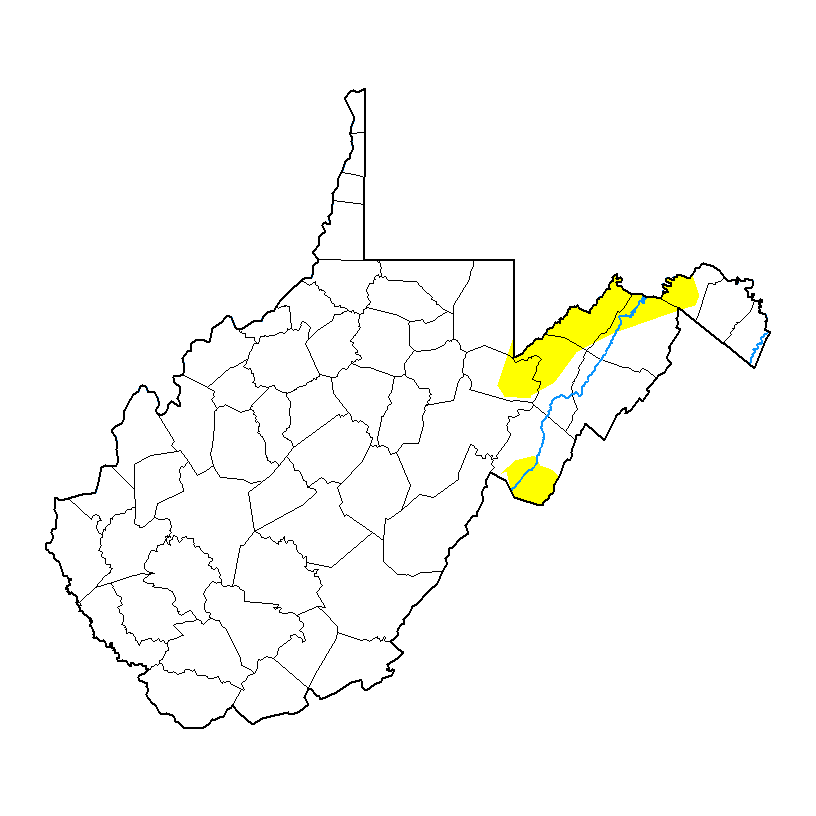 West Virginia Drought Monitor