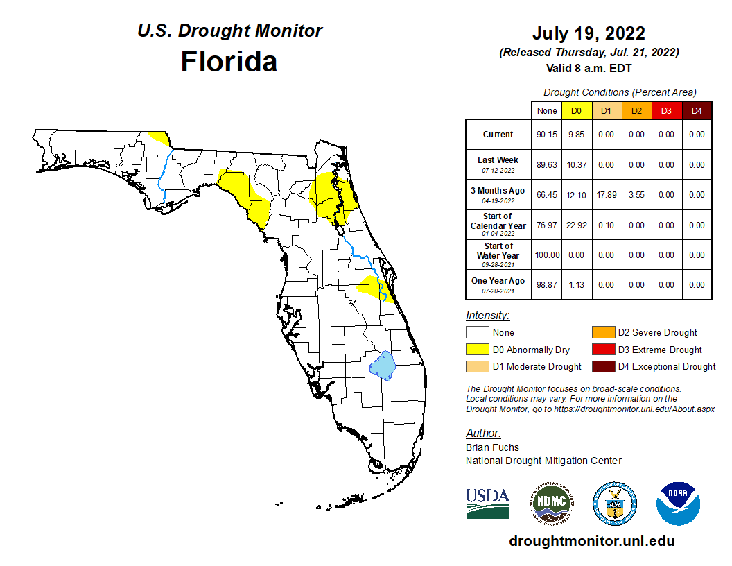 Drought Monitor - FL