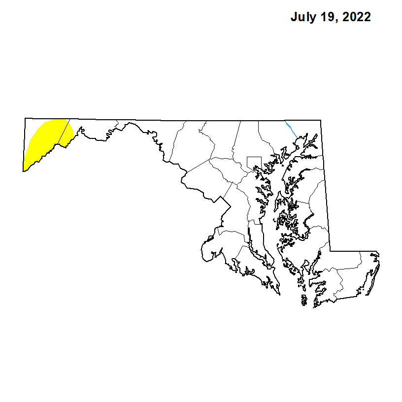 Maryland Drought Status