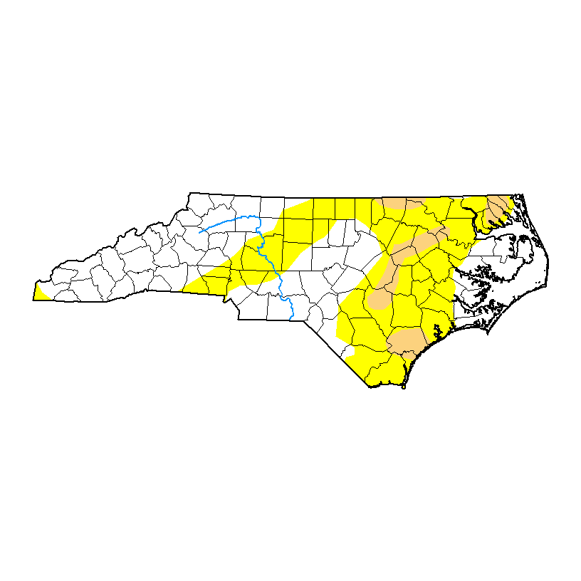 North Carolina Drought Monitor