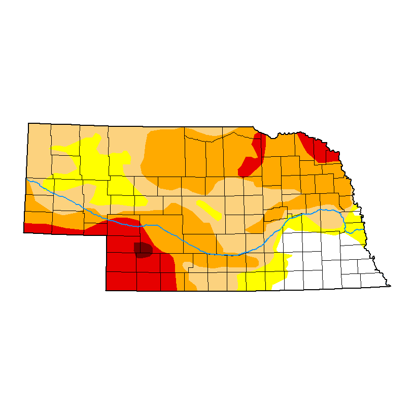 current  Nebraska Drought Monitor